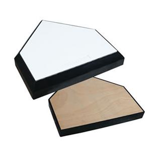Professional Home Plate Wood Bottom B035