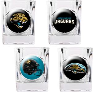 NFL Jacksonville Jaguars 4pc Collector Shot Glass