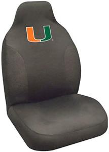 Fan Mats University of Miami Seat Cover