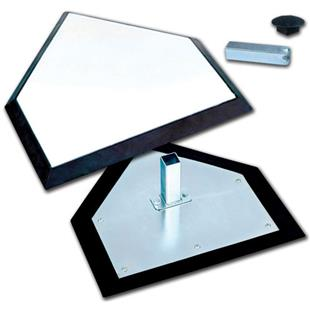 Pro Style Home Plate Hollywood Style Anchor B030I