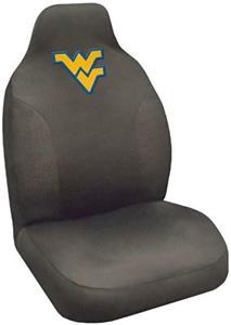 Fan Mats West Virginia University Seat Cover