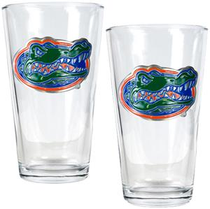 NCAA Florida Gators 2pc Pint Glass Set