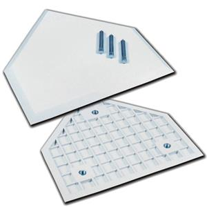 Champro Waffle Bottom Home Plate with Spikes B032