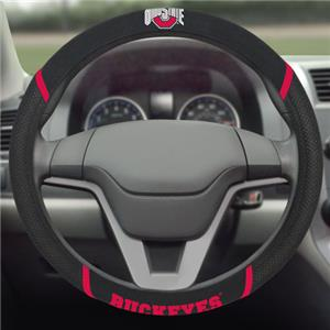 Fan Mats Ohio State Steering Wheel Covers