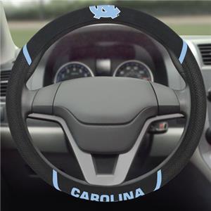 Fan Mats North Carolina Steering Wheel Covers