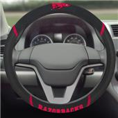Fan Mats Arkansas Razorbacks Steering Wheel Covers