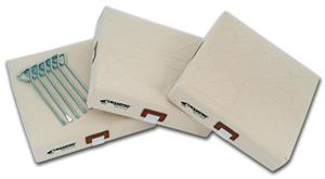 Champro Canvas Cover Quilted Bases - Set of 3
