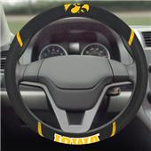 Fan Mats University of Iowa Steering Wheel Covers