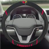 Fan Mats Univ. of Louisville Steering Wheel Covers