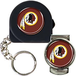 NFL Washington Redskins 6' Tape Measure/Money Clip