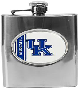 NCAA Kentucky Wildcats Stainless Steel Flask