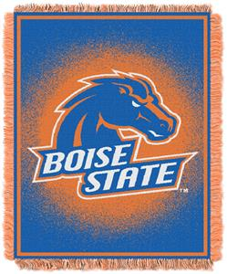 Northwest NCAA Boise State Jacquard Throws