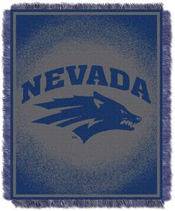 Northwest NCAA Nevada Wolf Pack Jacquard Throws