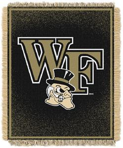 Northwest NCAA Wake Forest Jacquard Throws