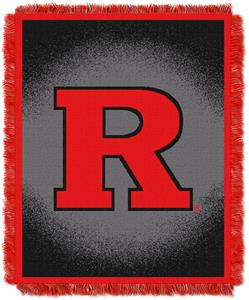 Northwest NCAA Rutgers University Jacquard Throws
