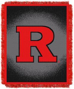 Northwest NCAA Rutgers University Jacquard Throws
