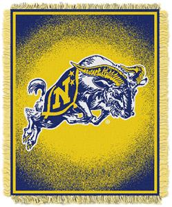 Northwest NCAA US Naval Academy Jacquard Throws