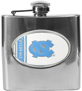 NCAA North Carolina Tar Heel Stainless Steel Flask
