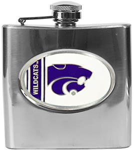 NCAA Kansas State Wildcats Stainless Steel Flask