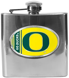 NCAA Oregon Ducks Stainless Steel Flask