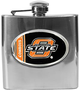 NCAA Oklahoma State Cowboys Stainless Steel Flask