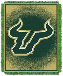 Northwest NCAA South Florida Bulls Jacquard Throws