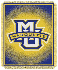 Northwest NCAA Marquette University Jacquard Throw