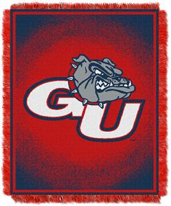 Northwest NCAA Gonzaga Bulldogs Jacquard Throws