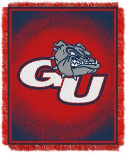 Northwest NCAA Gonzaga Bulldogs Jacquard Throws