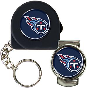 NFL Tennessee Titans 6' Tape Measure/Money Clip