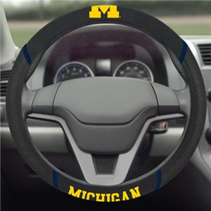 Fan Mats University Michigan Steering Wheel Covers