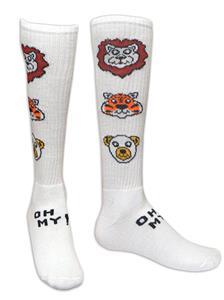 Red Lion Lions, Tigers, Bears-Oh My Athletic Socks
