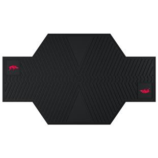 Fan Mats University of Arkansas Motorcycle Mats