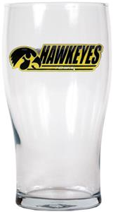 NCAA Iowa Hawkeyes 20oz. Pub Glass