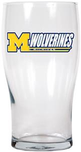 NCAA Michigan Wolverines 20oz. Pub Glass