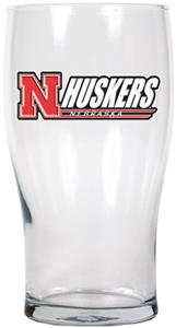 NCAA Nebraska Cornhuskers 20oz. Pub Glass