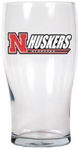 NCAA Nebraska Cornhuskers 20oz. Pub Glass