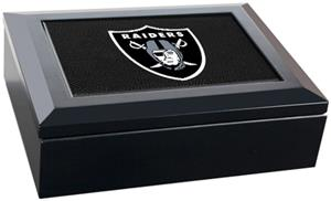 NFL Oakland Raiders Gameball Keepsake Box