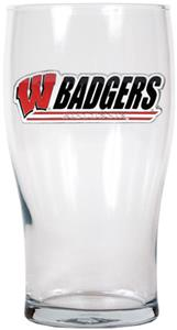 NCAA Wisconsin Badgers 20oz. Pub Glass