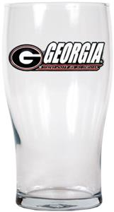 NCAA Georgia Bulldogs 20oz. Pub Glass