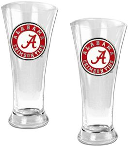 NCAA Alabama 2pc Premiere Pilsner Glass Set