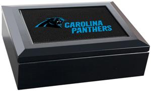 NFL Carolina Panthers Gameball Keepsake Box