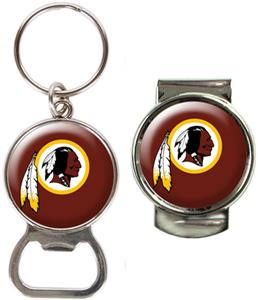 NFL Washington Redskins Bottle Opener/Money Clip