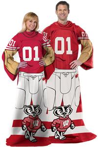 Northwest NCAA Wisconsin Badgers Comfy Throws