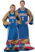 Northwest NCAA Kansas Jayhawks Comfy Throws