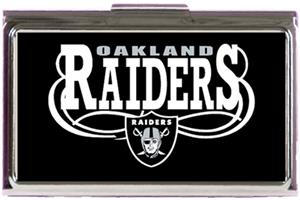 NFL Oakland Raiders Business Card Case