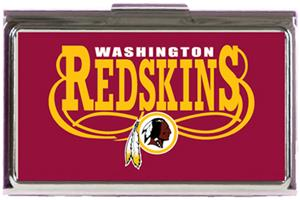 NFL Washington Redskins Business Card Case