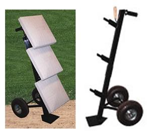 Professional Baseball/Softball Base Cart