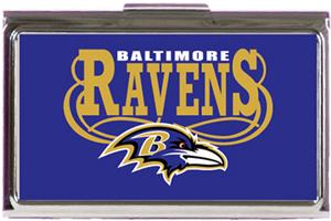 NFL Baltimore Ravens Business Card Case