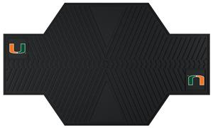 Fan Mats University of Miami Motorcycle Mats